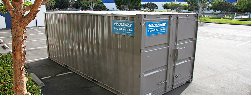 Haulaway Storage Containers CD Disposal CRR Environmental Services